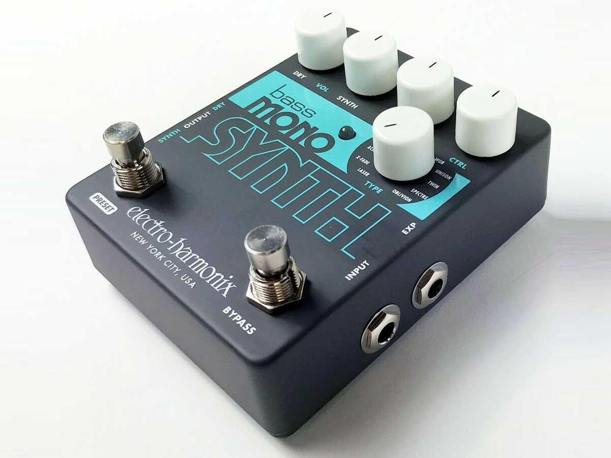 Pedal de Efeito Electro Harmonix Bass Mono Synth