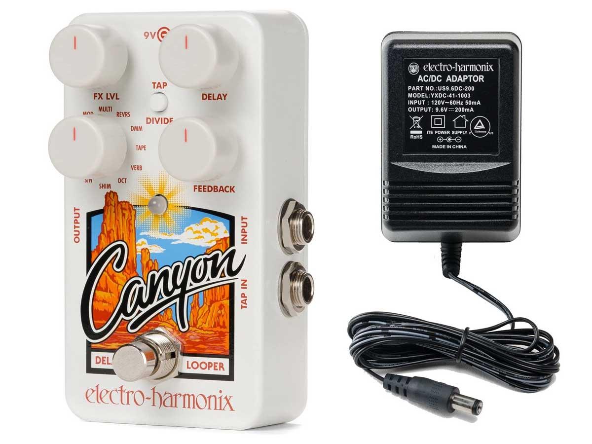 Pedal de Efeito Electro Harmonix Canyon Delay and Looper