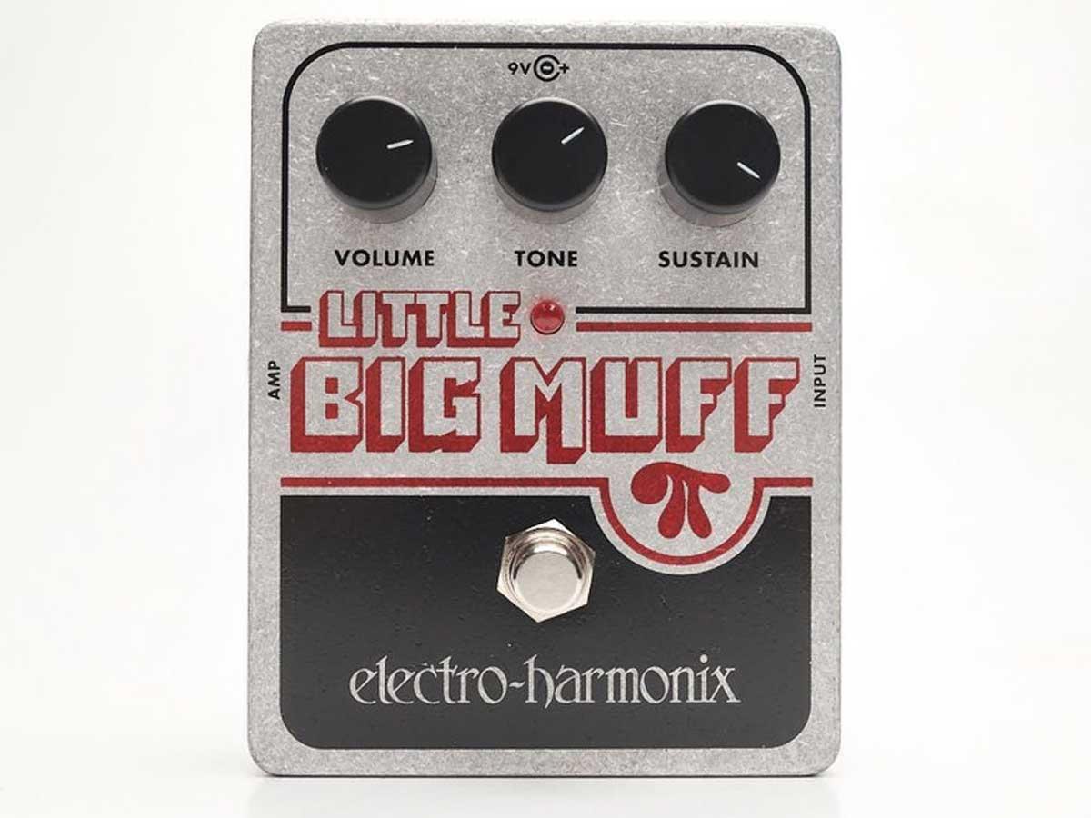 Pedal de Efeito Electro Harmonix Little Big Muff Pi