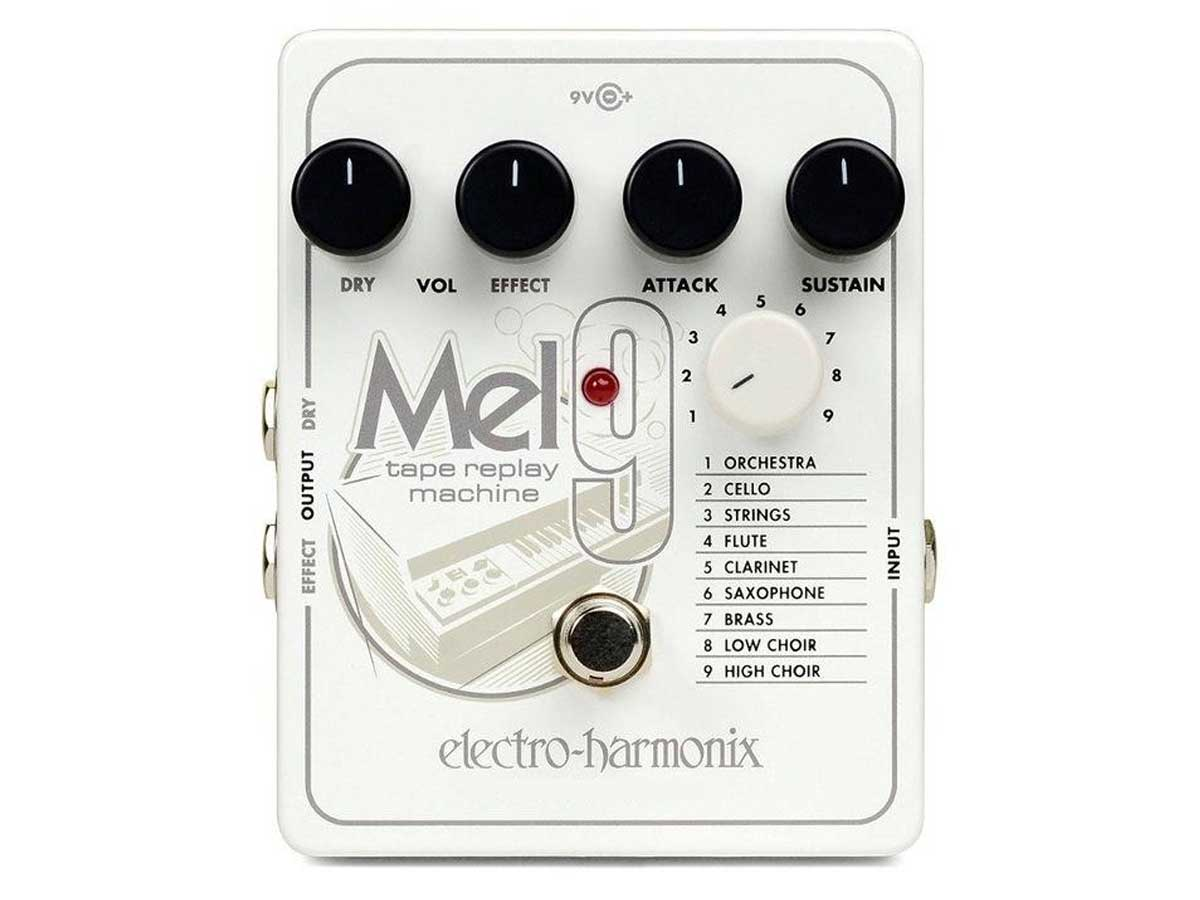 Pedal de Efeito Electro Harmonix Mel9 Tape Replay Machine