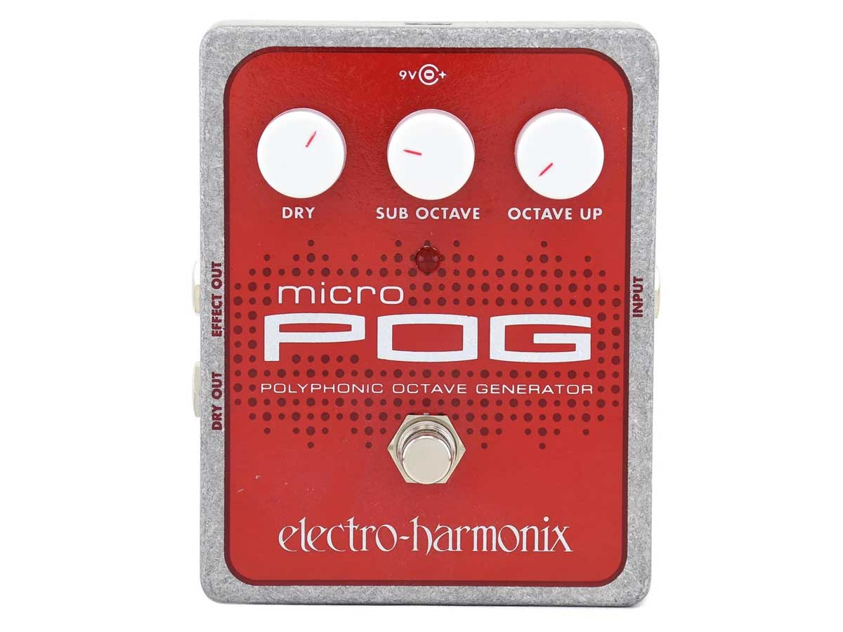 Pedal de Efeito Electro Harmonix Micro Pog Poliphonic Octave Generator
