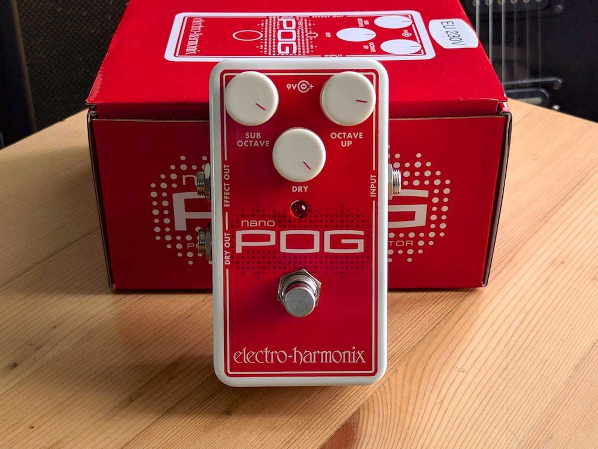 Pedal de Efeito Electro Harmonix Nano Pog