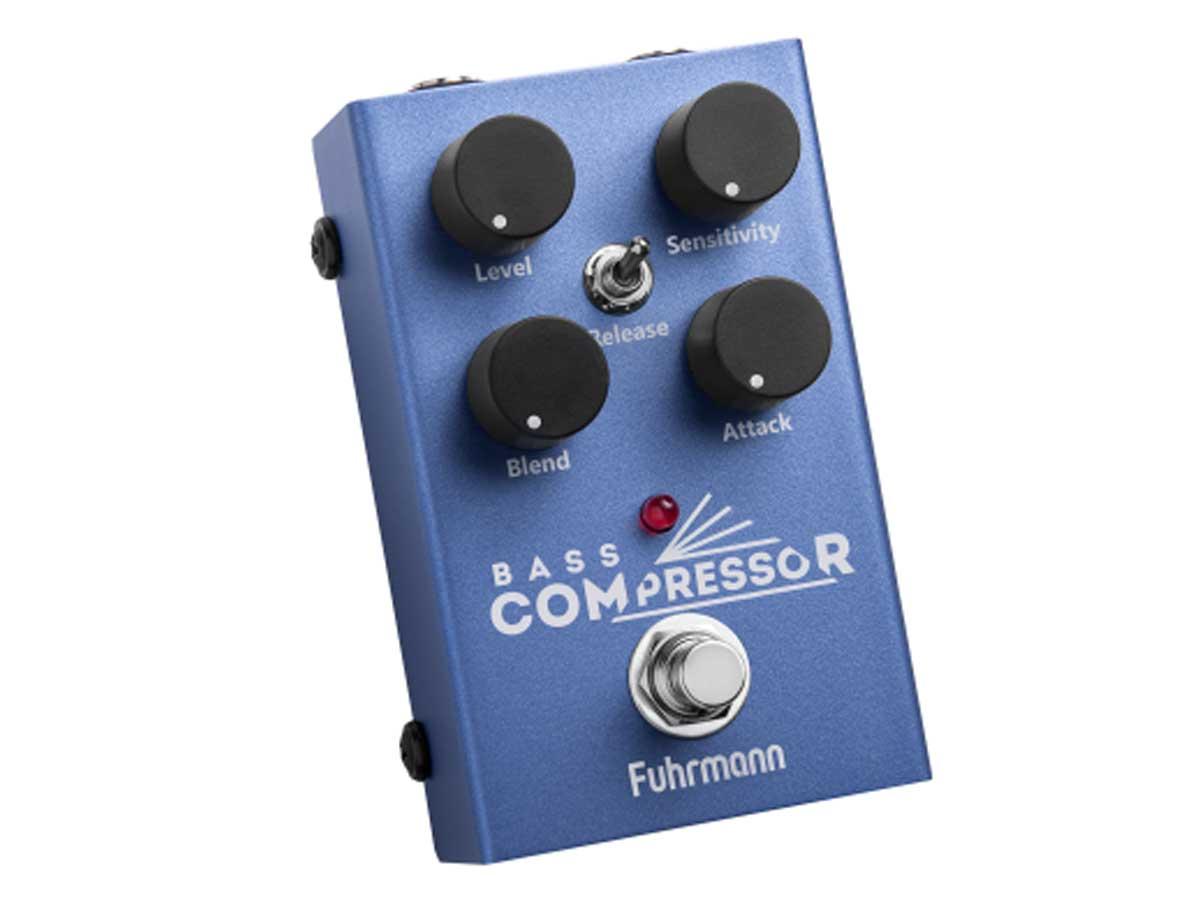 Pedal de Efeito Fuhrmann Bass Compressor II