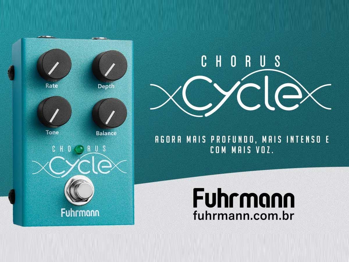 Pedal de Efeito Fuhrmann Cycle Chorus