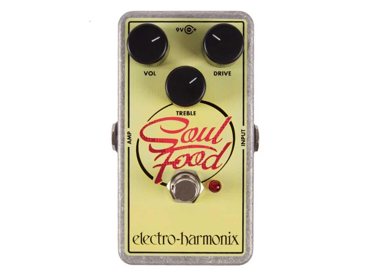 Pedal de Overdrive Electro Harmonix Soul Food