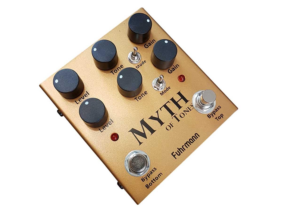 Pedal de Overdrive Fuhrmann Myth of Tones