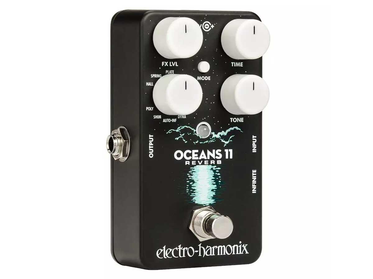 Pedal de Reverb Electro Harmonix Oceans 11