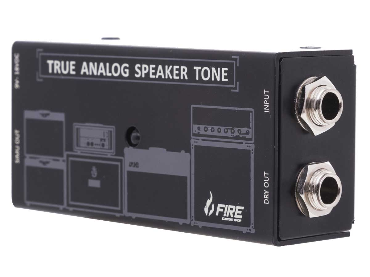 Pedal Fire Speaker Simulator TAST FSST4