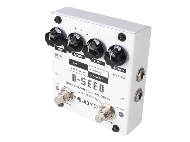 Pedal Guitarra Joyo D-Seed Dual Channel Delay