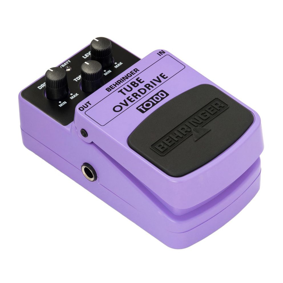 Pedal Para Guitarra Behringer TO100 Tube Overdrive