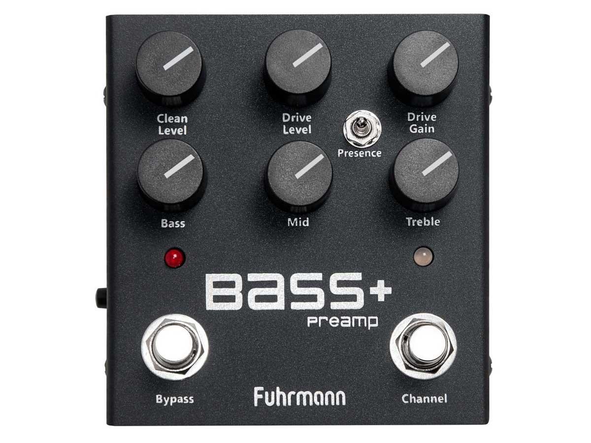 Pedal Preamp Fuhrmann Bass +
