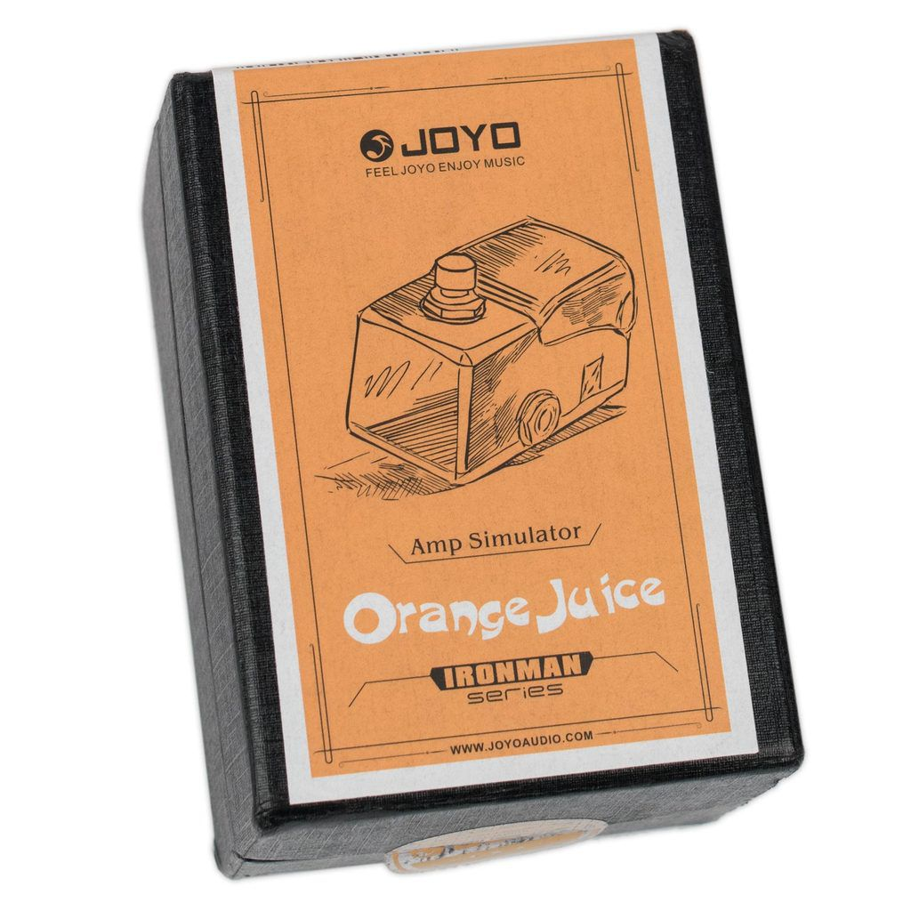 Pedal Simulador de Amp Joyo JF-310 Orange Juice