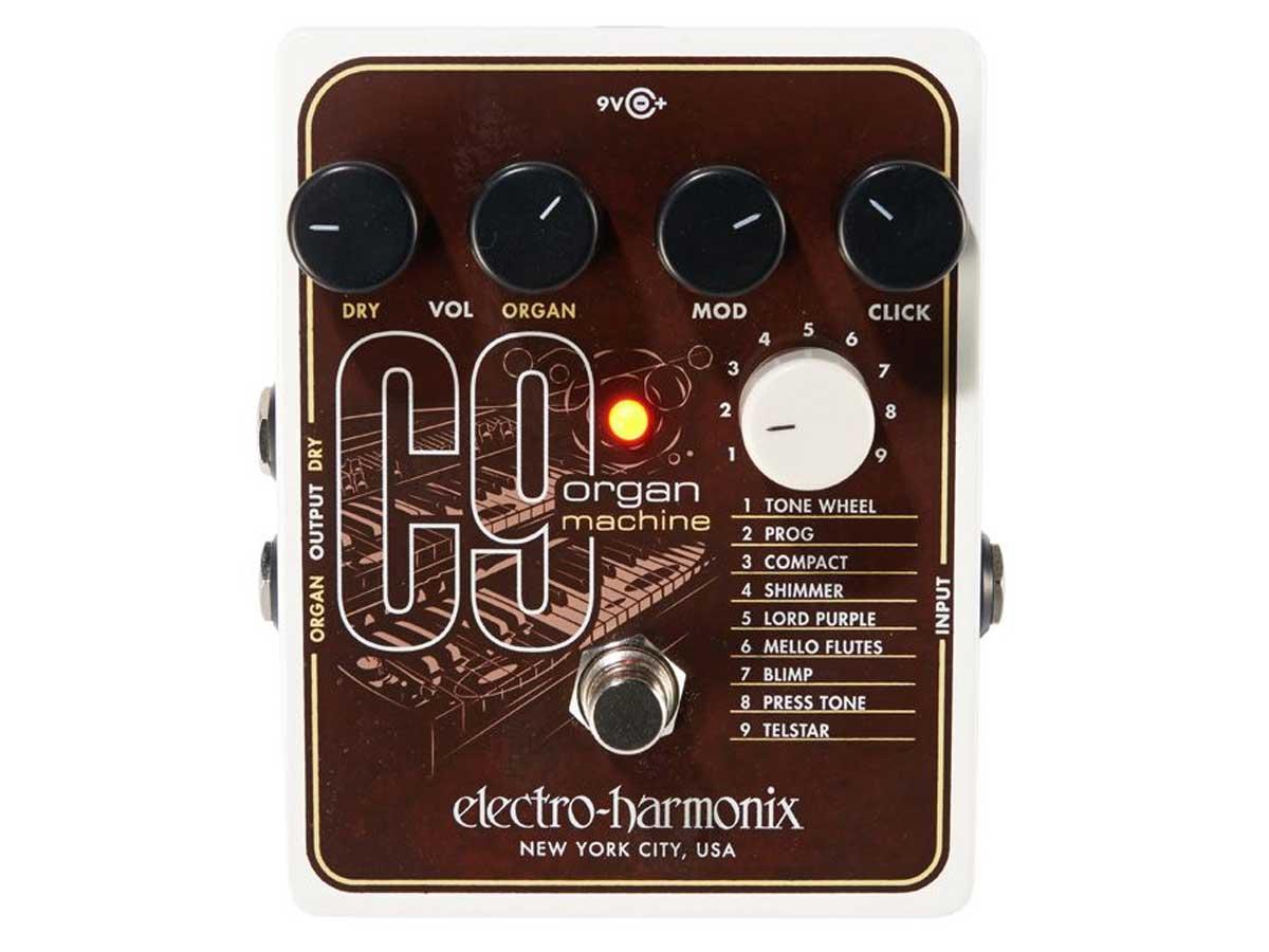 Pedal Simulador de Órgão Electro Harmonix C9 Organ Machine