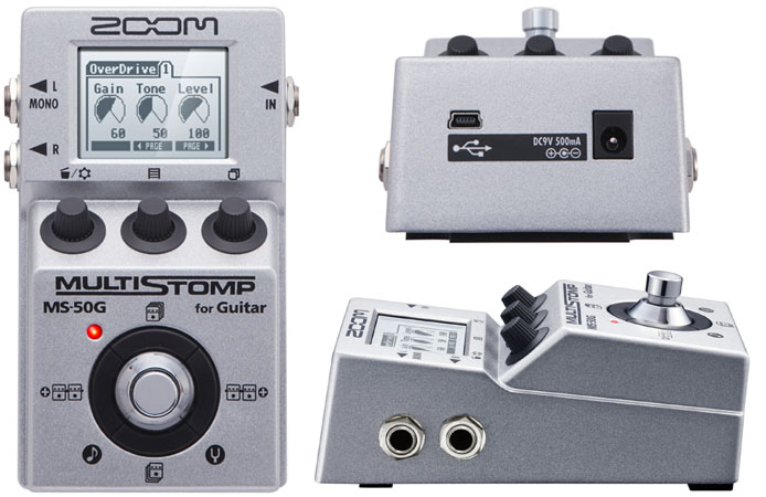 Pedal Zoom MS-50G Multistomp '