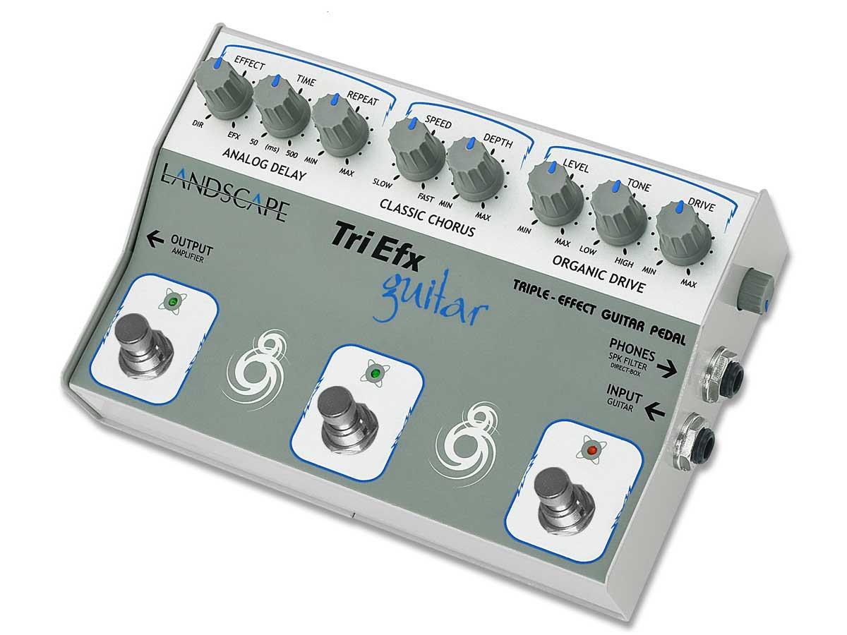 Pedaleira para Guitarra Landscape TriEfx