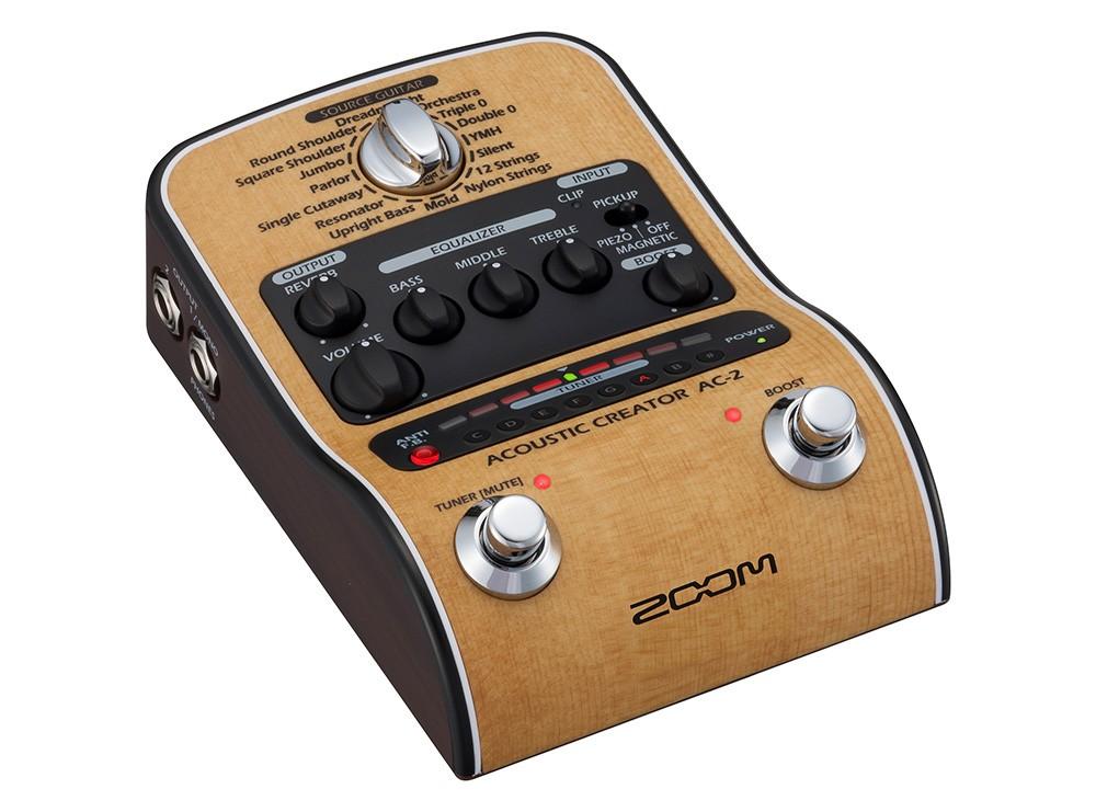 Pedaleira para Violão Zoom AC-2