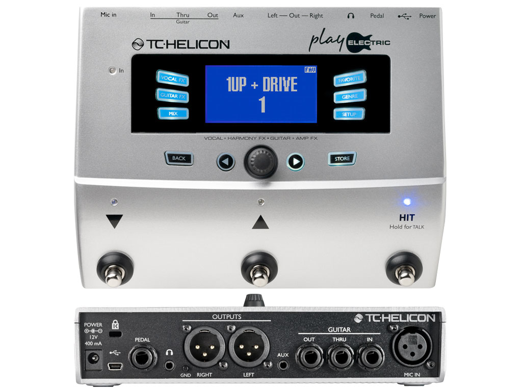 Pedaleira TC Helicon Play Electric