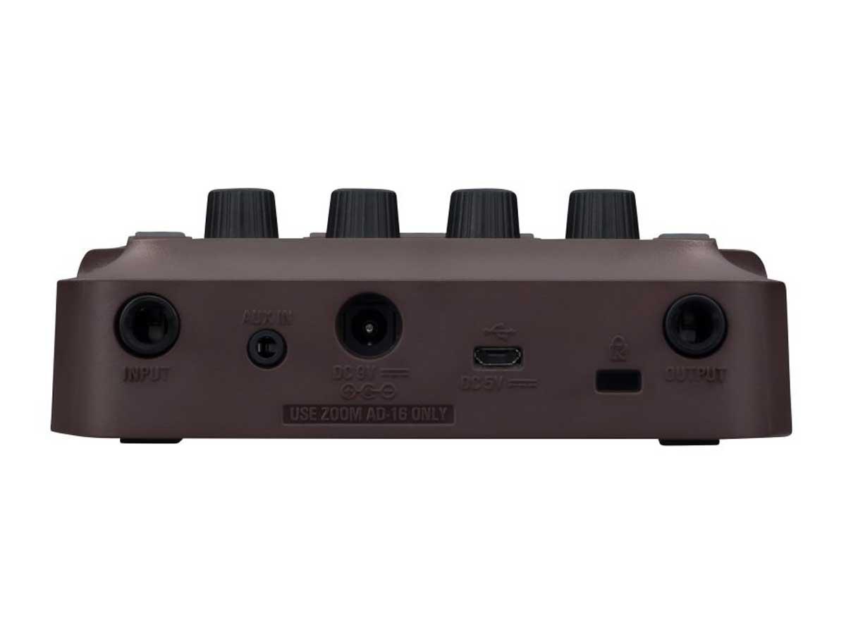Pedaleira Zoom A1 Four - Violão e Instrumentos Acústicos