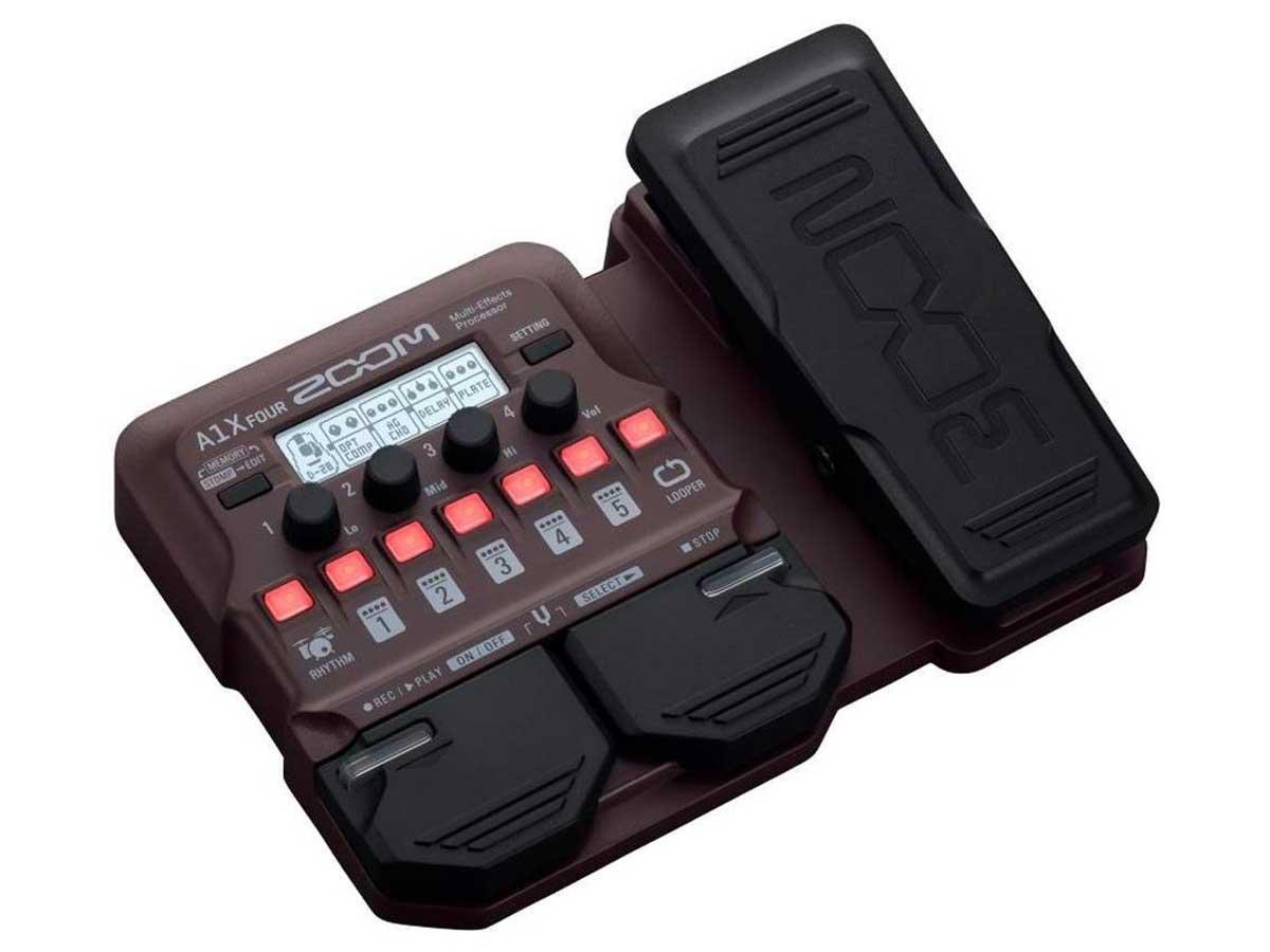 Pedaleira Zoom A1x Four - Violão e Instrumentos Acústicos