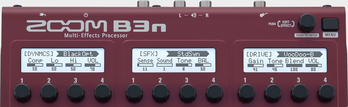 Pedaleira Zoom B3n para Baixo * 10020242