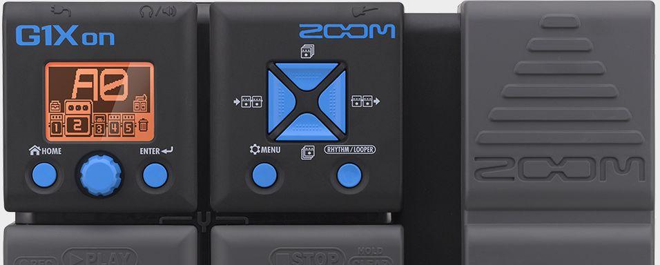 Pedaleira Zoom G1Xon - Multi Efeitos para guitarra