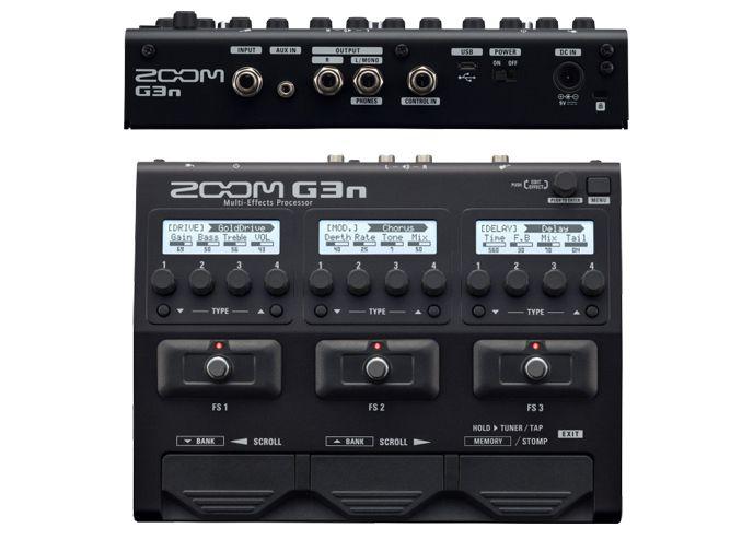 Pedaleira Zoom G3n para guitarra * 10020237
