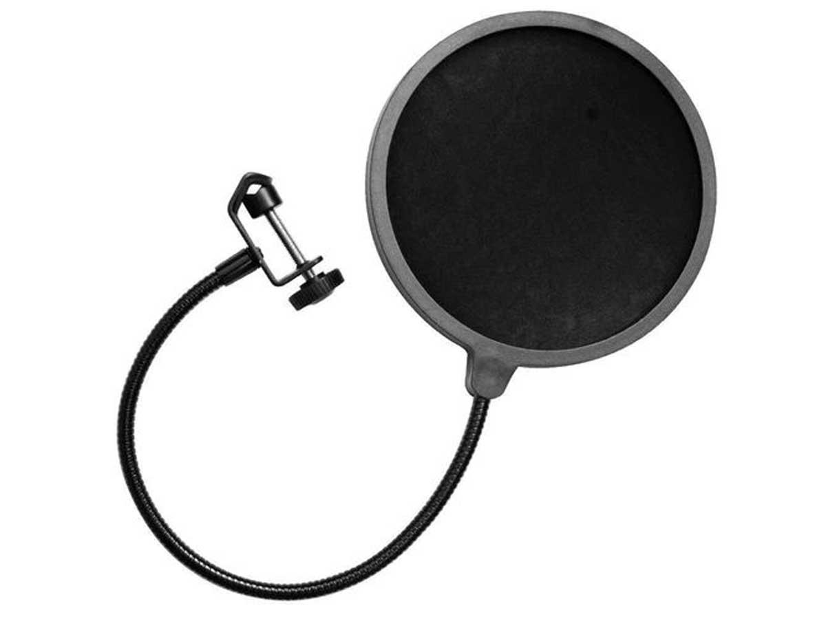 Pop Filter para Microfone Altomax M-061 anti-puff