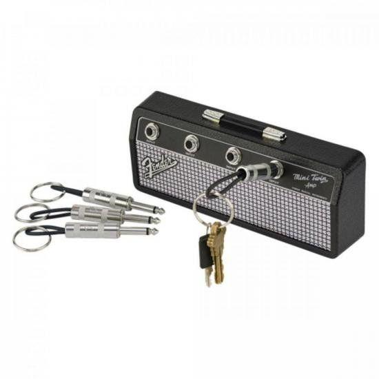 Porta Chaves Fender Jack Rack Preto