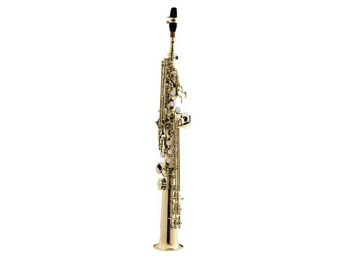 Saxofone Soprano Reto Harmonics HST-410L1 em Sib