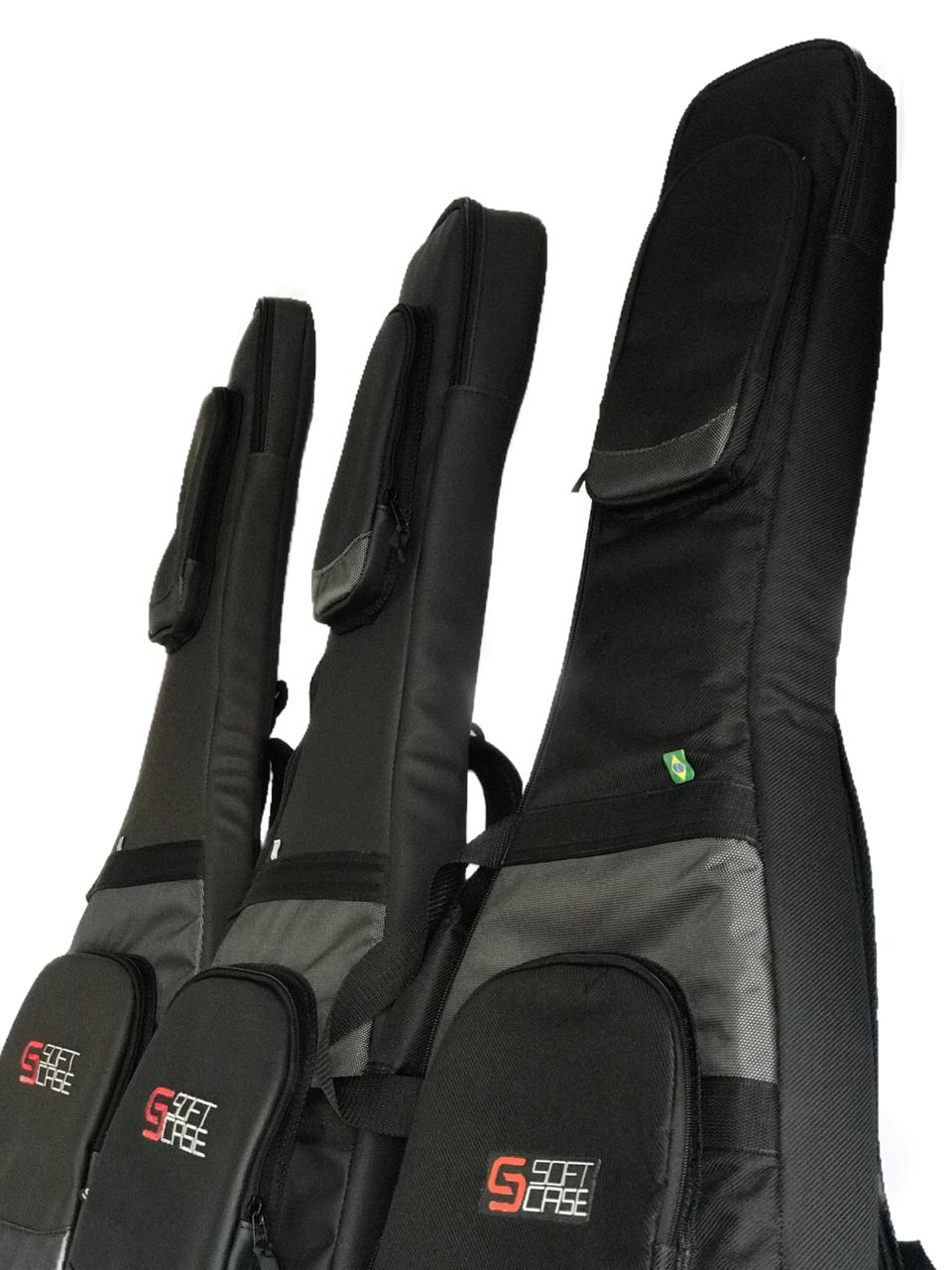 Bag Semi Case Guitarra Soft Case Premium
