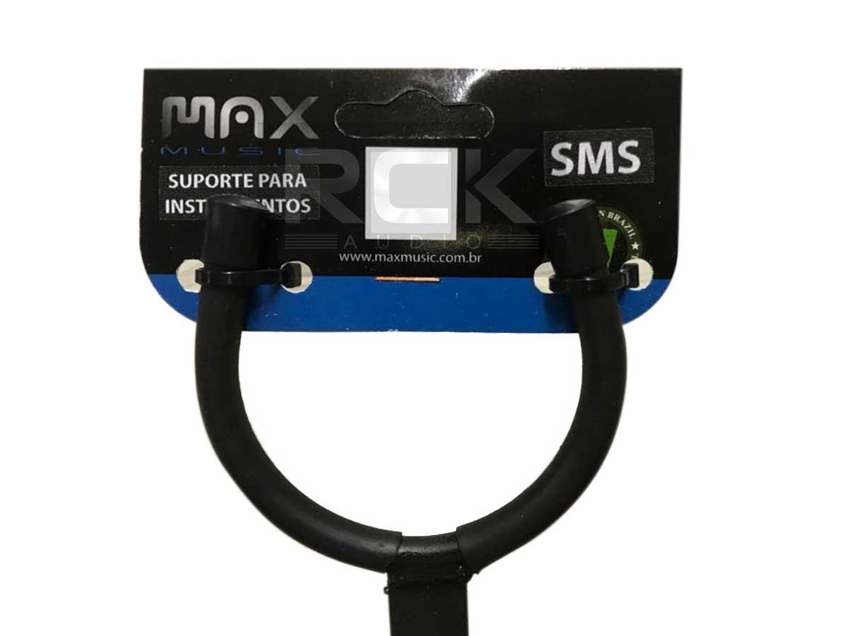 Suporte Fixo de Parede para Instrumentos de Corda Max Music SMS