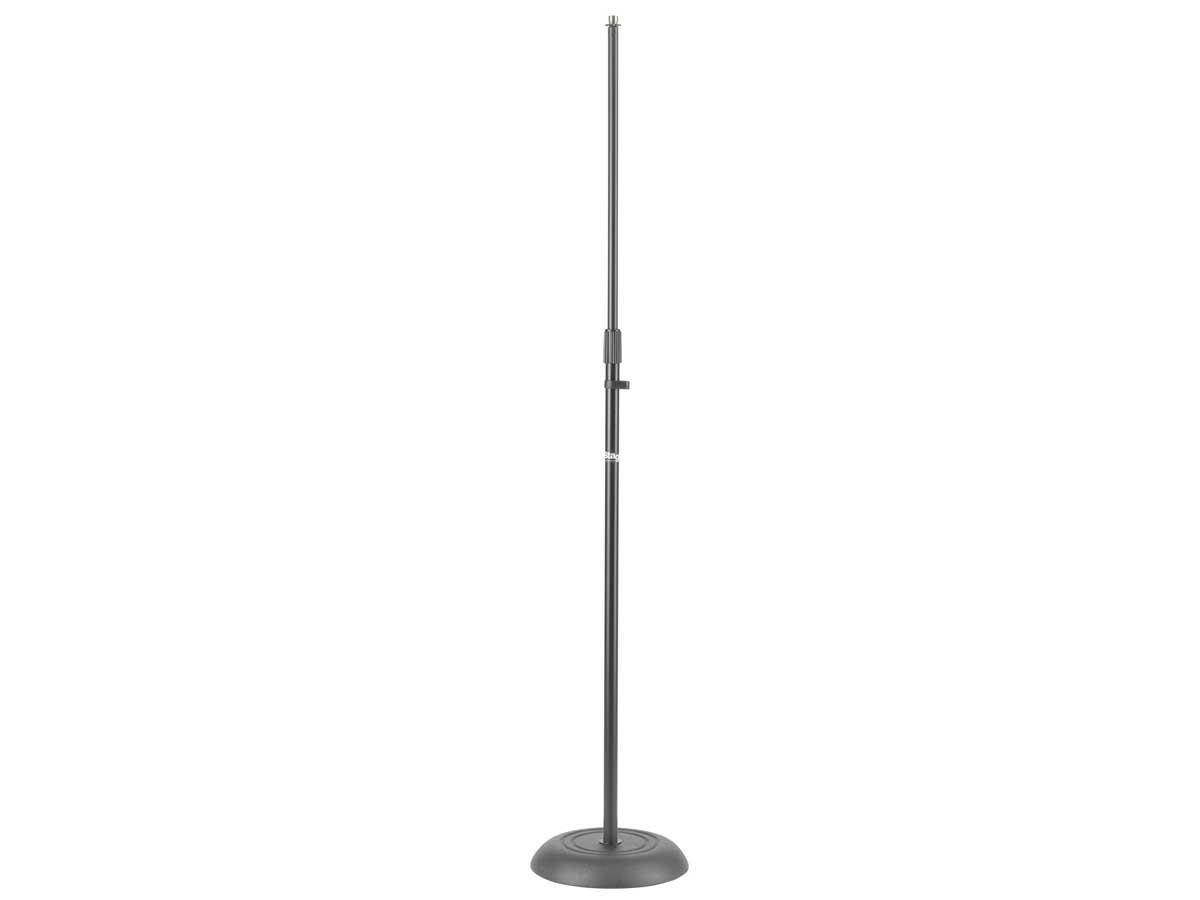 Suporte Pedestal para Microfone Stagg com base redonda MIS-1120 BK