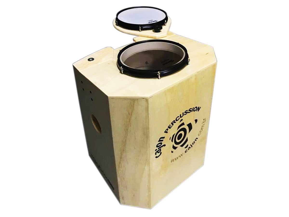 Tajón GigBox Pop Cajón Percussion com Caixa, Tom, Bumbo
