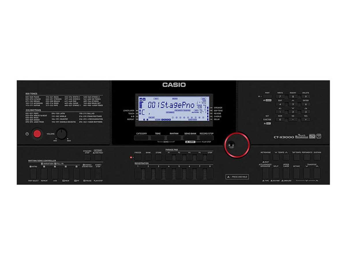 Teclado Arranjador Casio CT-X3000 - 61 Teclas