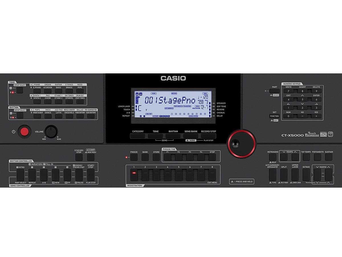 Teclado Arranjador Casio CT-X5000 - 61 Teclas
