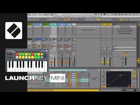 Teclado Controlador Novation LaunchKey Mini MK2