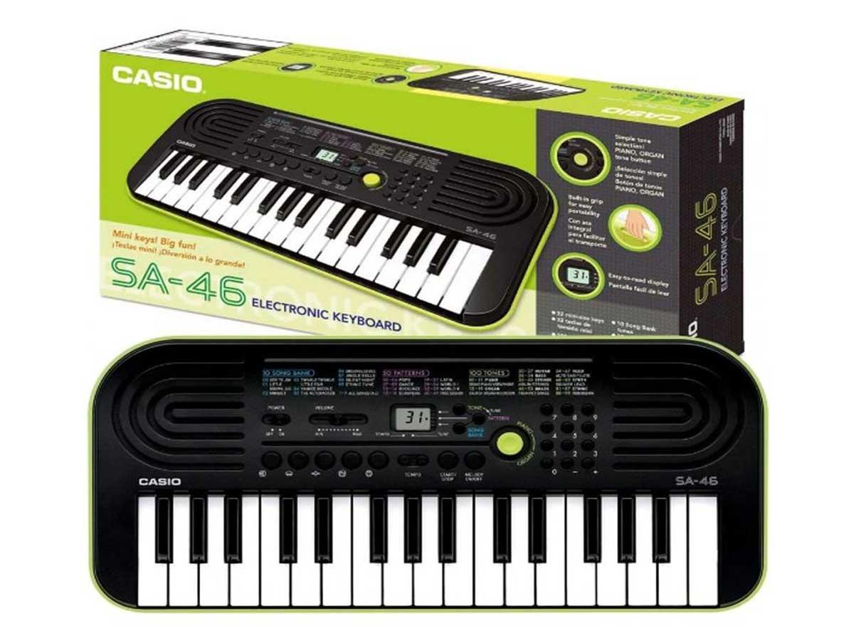 Teclado Infantil Casio SA-46 - 32 Teclas Mini