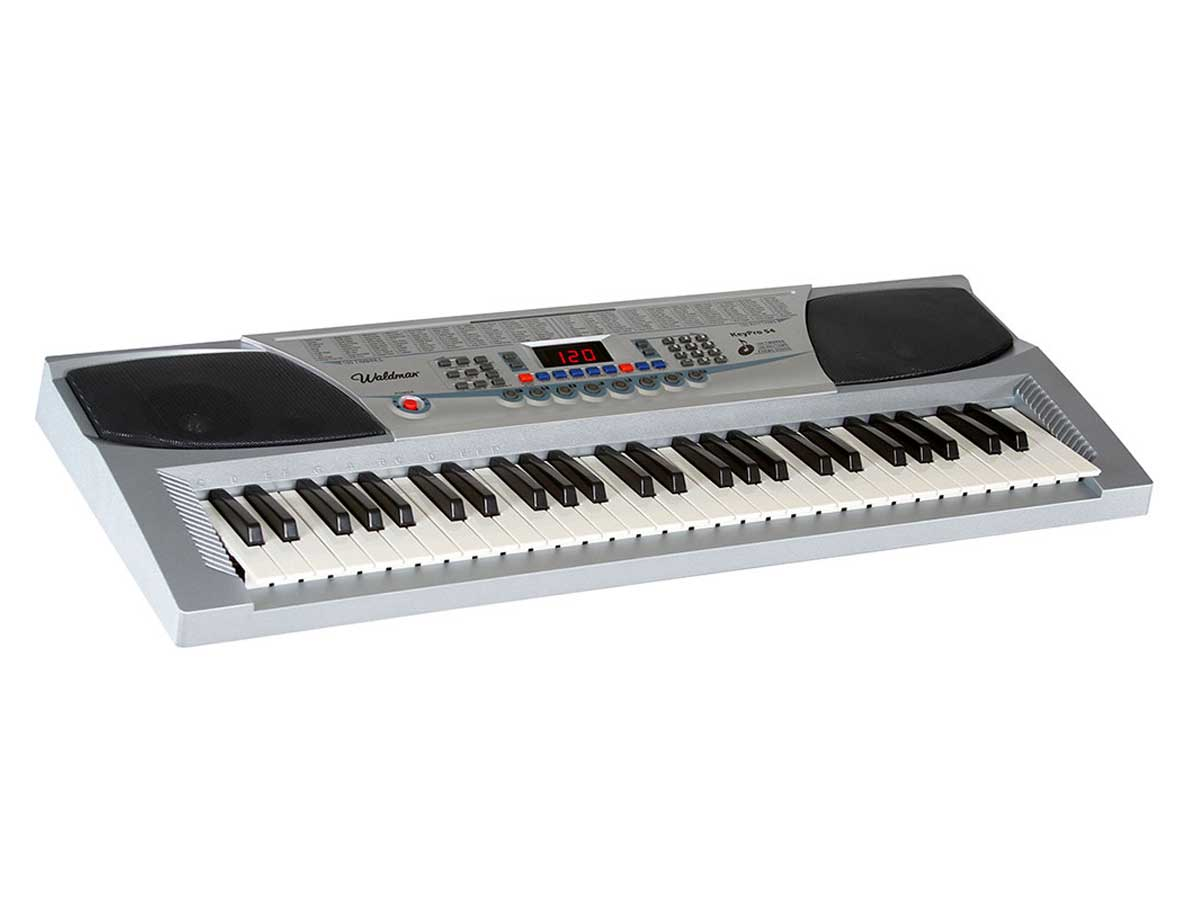 Teclado Infantil Waldman KeyPro 54 com Microfone