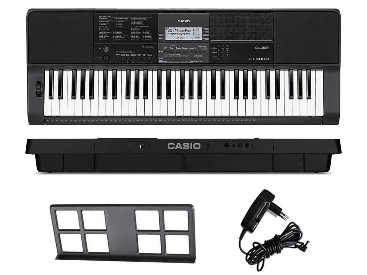 Teclado Musical Digital Casio CT-X800   61 Teclas