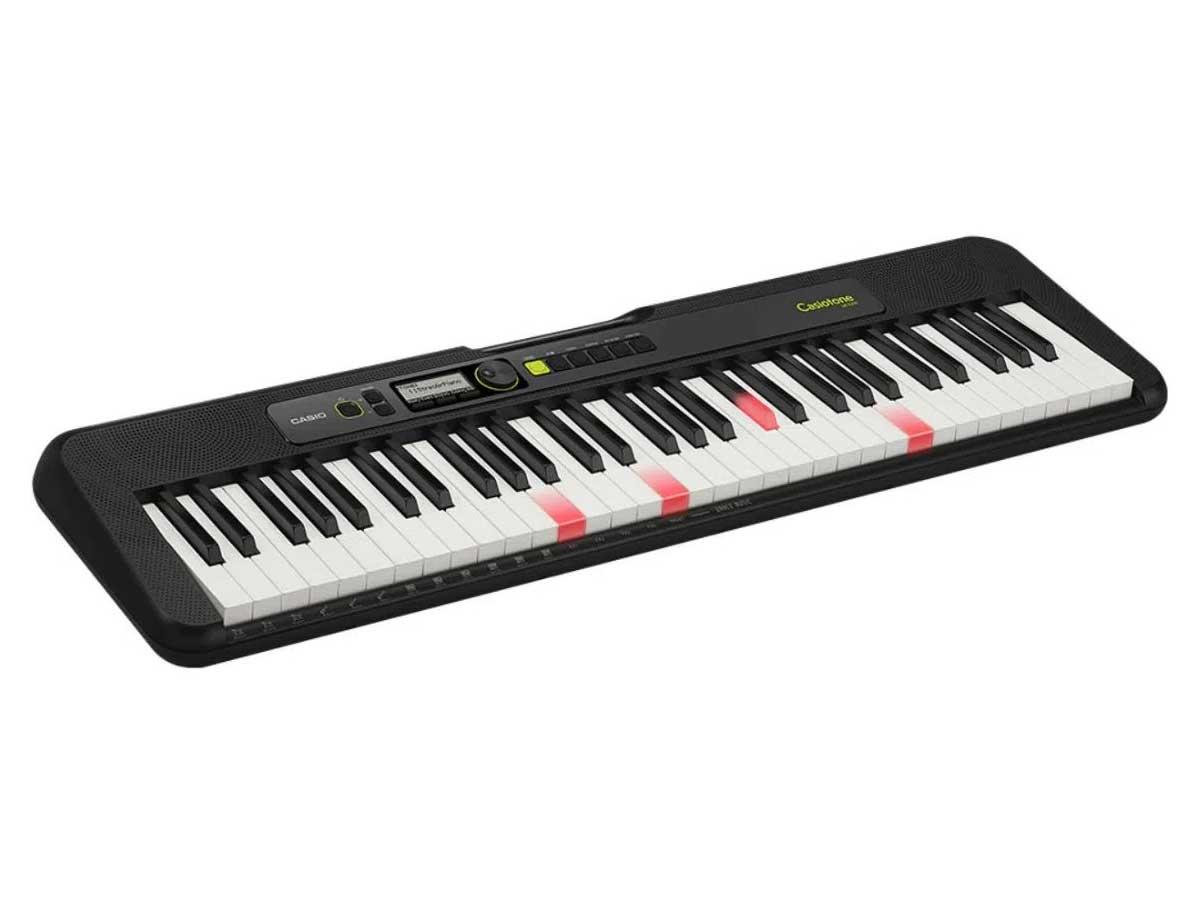 Teclado Musical Digital Casiotone LK-S250 - 61 Teclas