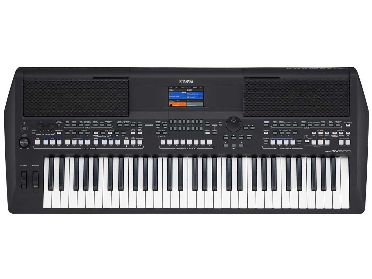 Teclado Yamaha PSR SX600 - 61 Teclas