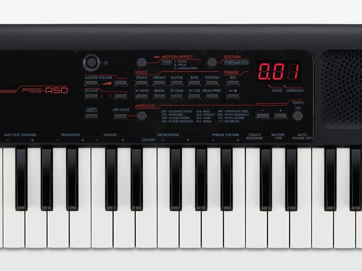 Teclado Yamaha PSS A50 - 37 Teclas