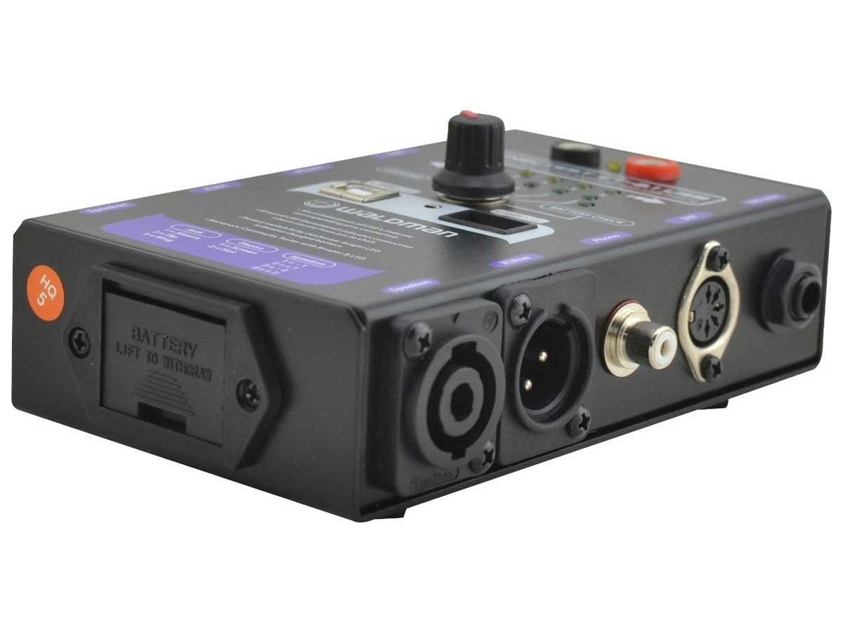 Testador Profissional de Cabos de Áudio Waldman Connectest CT-8.1 USB