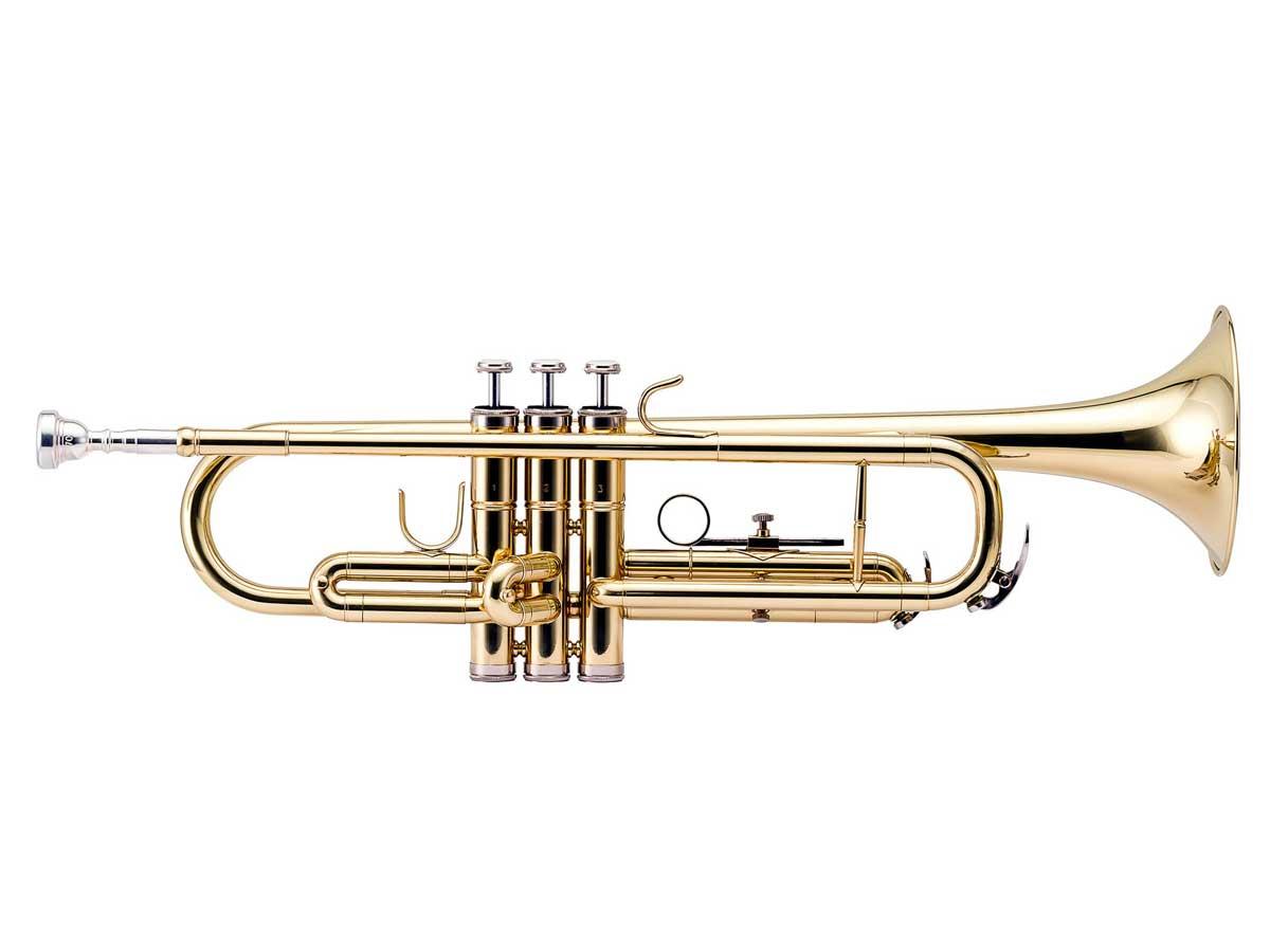 Trompete Si Bemol Harmonics HTR-300L Laqueado