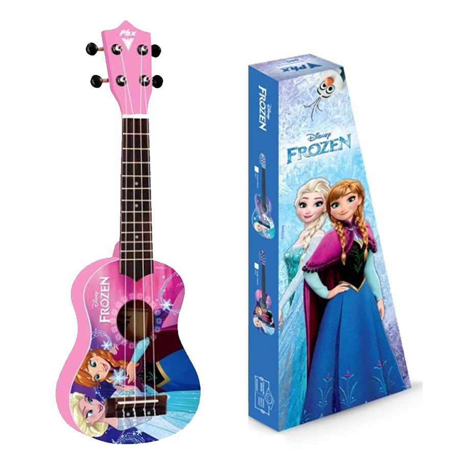 Ukulele Infantil PHX Disney Frozen rosa