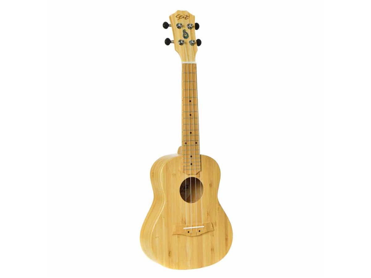 Ukulele Seizi Bali Concert Acústico Solid Bamboo