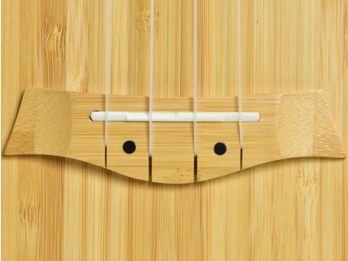 Ukulele Seizi Bali Tenor Elétrico Solid Bamboo