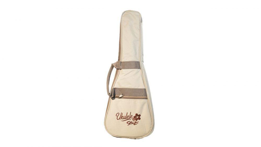 Ukulele Seizi Kauai Concert Koa Acústico com bag