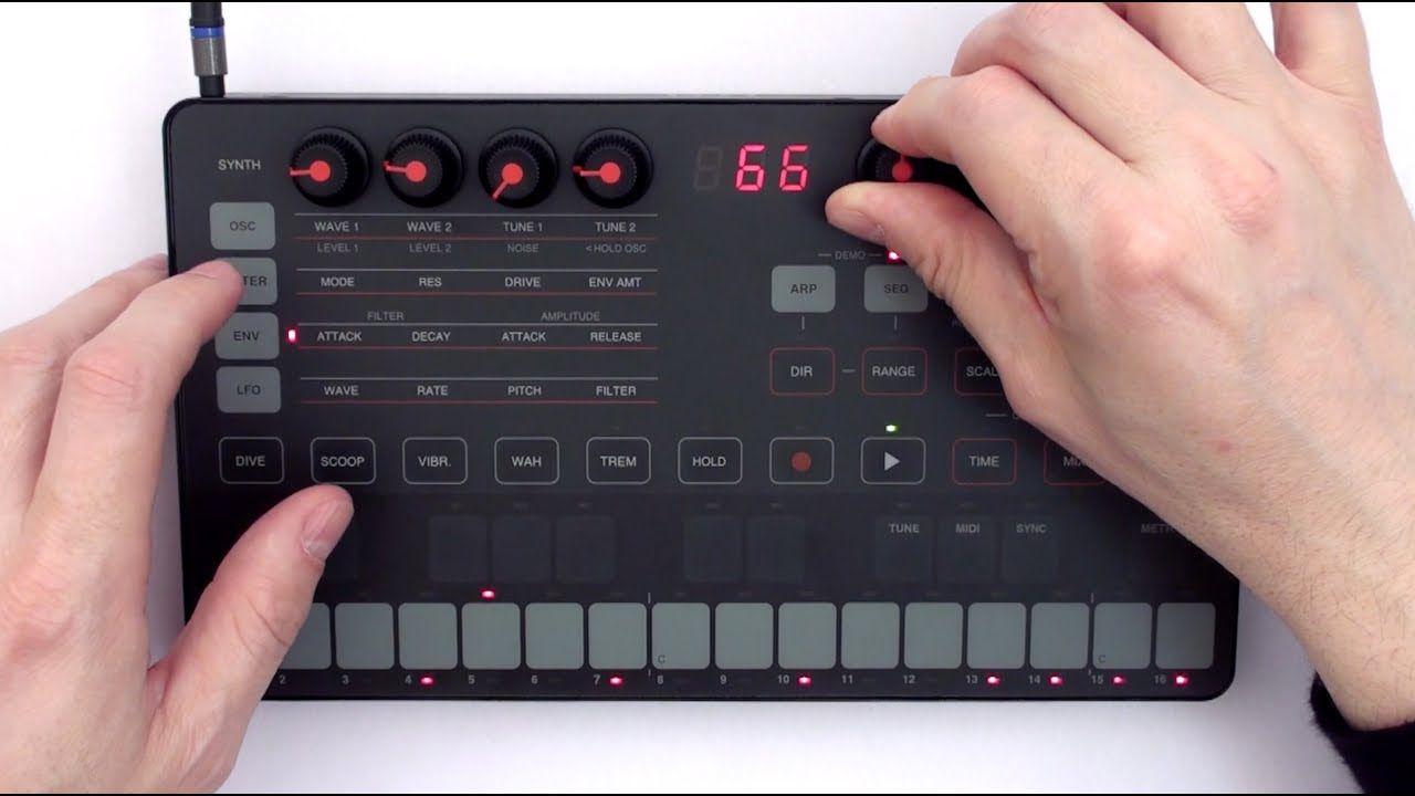Uno Synth - Sintetizador Analógico Portátil