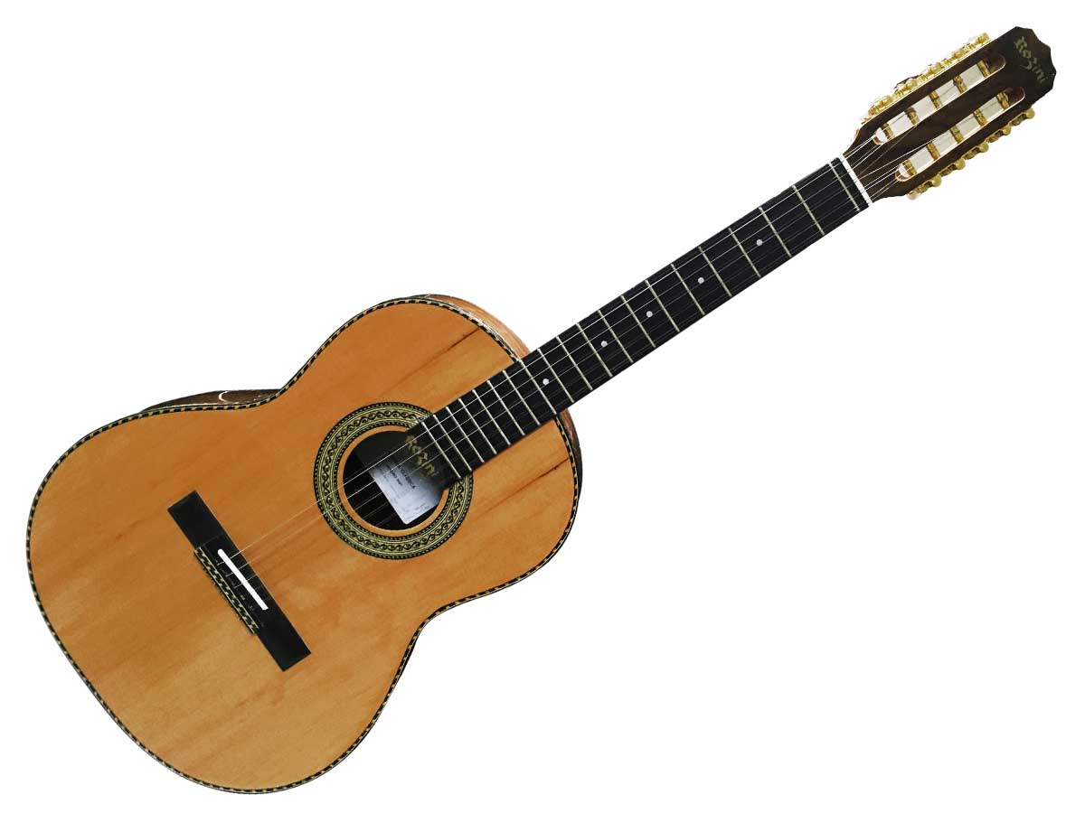 Viola Presença Brasil Cinturada Acústica Rozini RV115 AC.N.LP